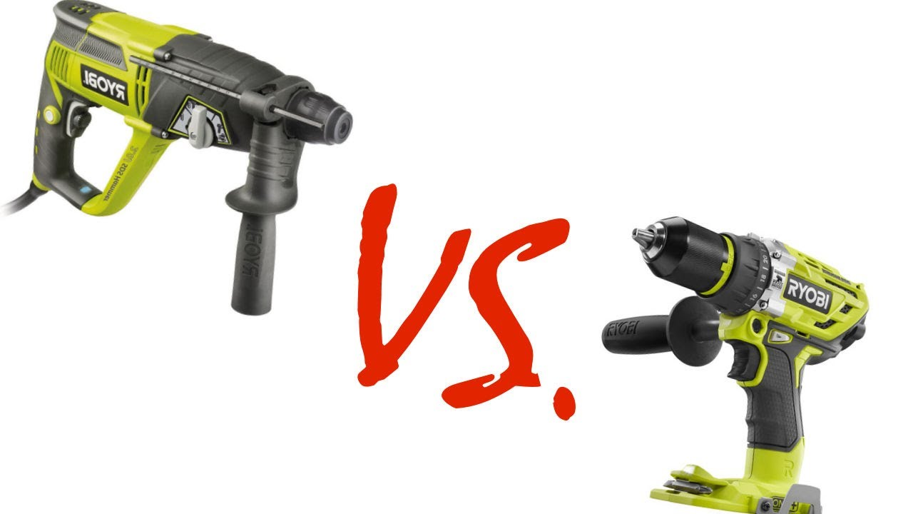 Difference: a Hammer Drill and a Rotary Drill?